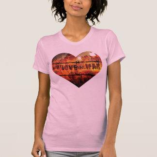 Make Love AND War Heart Logo Ladies Tank Top