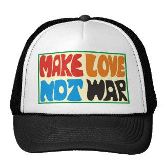 make love emergency was hippie saying trucker hat