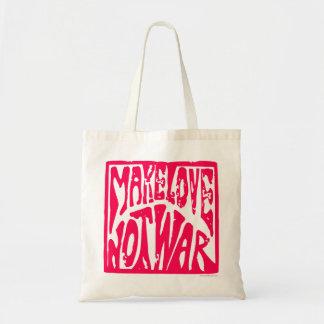Make Love, Not War - Hippie Design for Peace