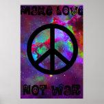 Make Love Not War I Poster