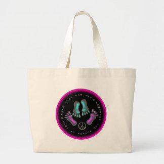 Make Love, Not War Jumbo Tote Bag