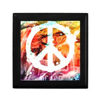 Make Love Not War Peace Gift Box
