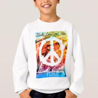 Make Love Not War Peace Shirts