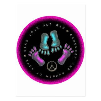Make Love, Not War Postcard