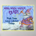 Make Magic Happen. READ! Poster