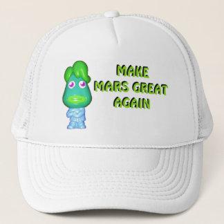 Make Mars Great Again Alien Donald Trucker Hat