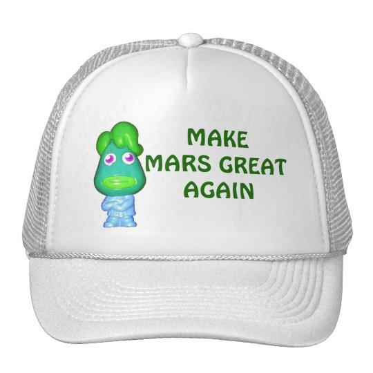 Make Mars Great Again Alien Trump Cap