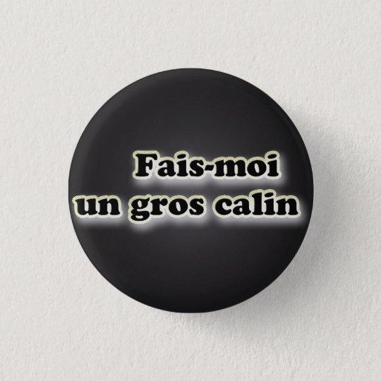 make me a large calin 3 cm round badge