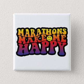 Make Me Happy! 15 Cm Square Badge