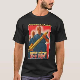 Make MP3s - black/poster T-Shirt