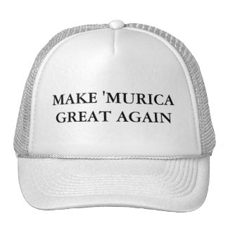 Make 'Murica Great Again Cap