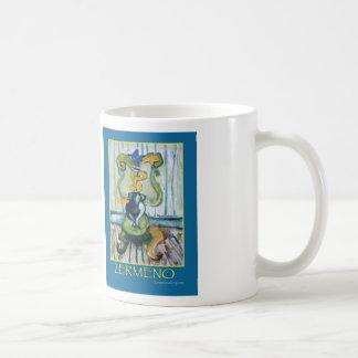 """Make Music Not War"" by Zermeno Classic White Coffee Mug"