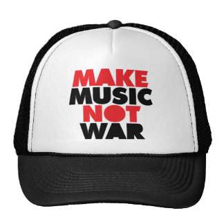 Make Music Not War Cap