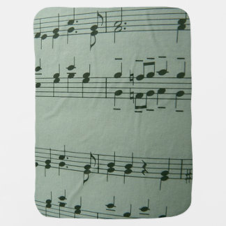 Make Music, silver Buggy Blankets