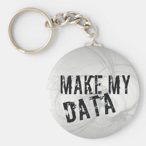 Make my Data Key Chains