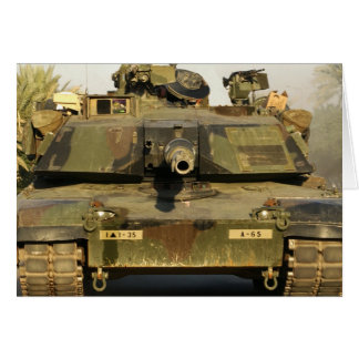 Make My Day M1A1Abrams MBT Greeting Card