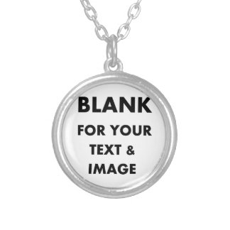 MAKE MY OWN PERSONALIZED PHOTO GIFT Use Your Image Round Pendant Necklace