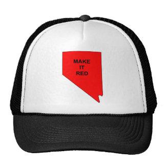 Make Nevada Red Cap