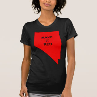 Make Nevada Red T Shirt