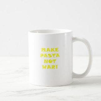 Make Pasta Not War Mugs
