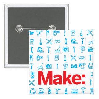 Make Pattern 15 Cm Square Badge