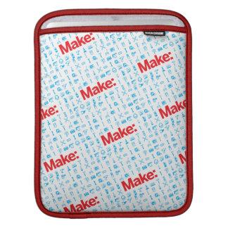 Make Pattern iPad Sleeves
