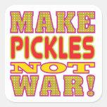 Make Pickles Square Sticker