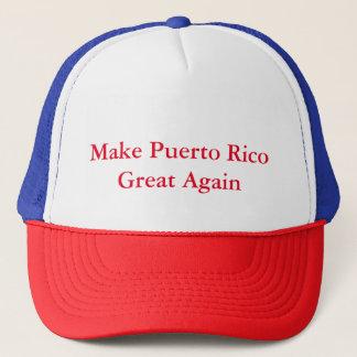 Make Puerto Rico Great Again Trucker Hat
