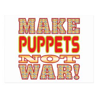 Make Puppets v2 Postcard