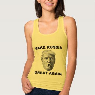 Make Russia Great Again Tank Top