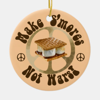 Make S mores Not Wars Ornament