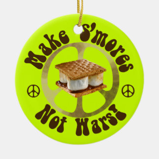 Make S mores Not Wars Christmas Tree Ornament