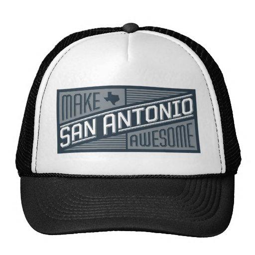 Make San Antonio Awesome Hats