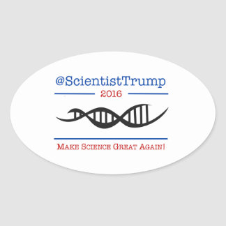 Make Science Great Again Sticker - DNA