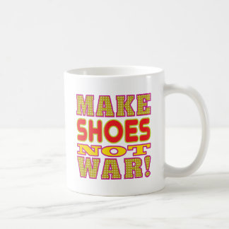 Make Shoes Basic White Mug