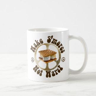Make Smores Not Wars Basic White Mug