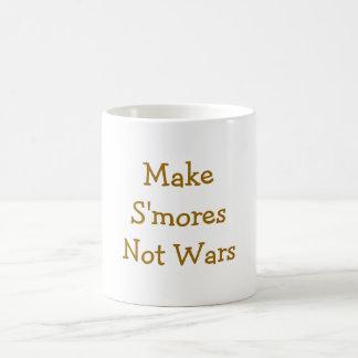 Make Smores Not Wars Coffee Mug