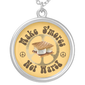 Make Smores Not Wars Jewelry