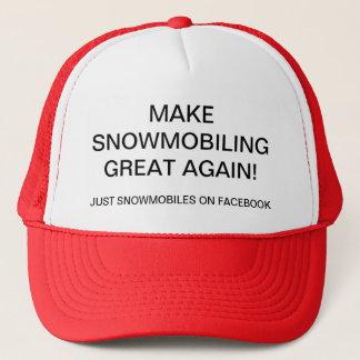 MAKE SNOWMOBILING GREAT AGAIN! TRUCKER HAT