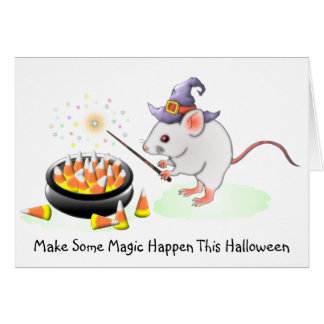 Make Some Magic Happen This Halloween Greeting Card