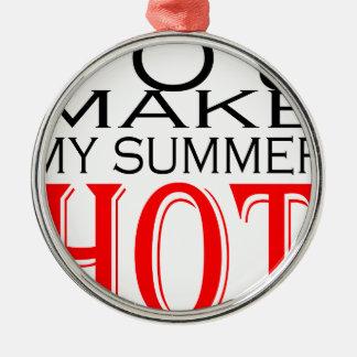make summer hot flirt teenage memory hot black bea Silver-Colored round decoration