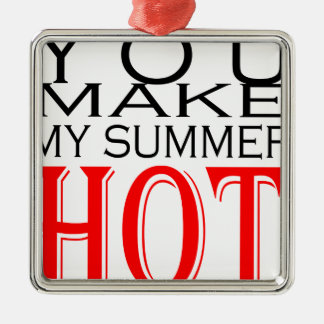 make summer hot flirt teenage memory hot black bea Silver-Colored square decoration