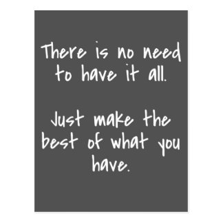 Make the Best Inspirational Quote Postcard