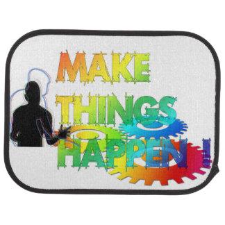 Make Things Happen Floor Mat