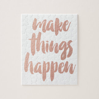 Make Things Happen Puzzles