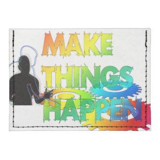 Make Things Happen Tyvek® Card Wallet