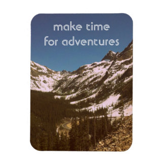 Make Time For Adventures Flexible Magnets