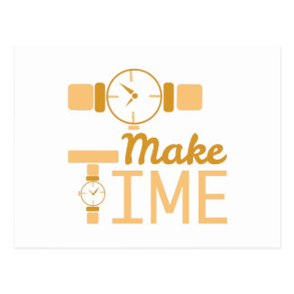 Make Time Postcard