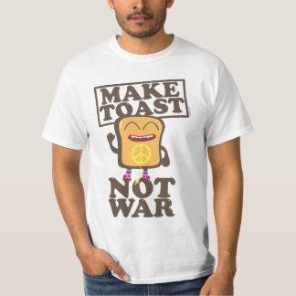 Make toast emergency was tee shirt
