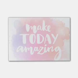 Make Today Amazing Post-it Notes